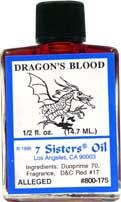 DRAGON'S BLOOD 7 Sisters Oil