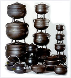 Cast Iron Cooking Cauldrons